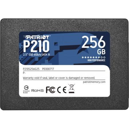 "Накопитель SSD Patriot 256GB P210 P210S256G25 SATA3 2.5"" 7mm"