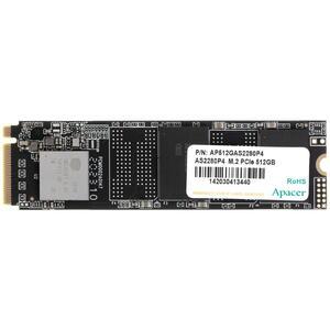 Накопитель SSD Apacer 512GB AS2280P4 M.2 PCI-E3.0x4 R2100/W1