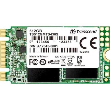 Накопитель SSD Transcend 512Gb SSD MTS 430 TS512GMTS430S M2