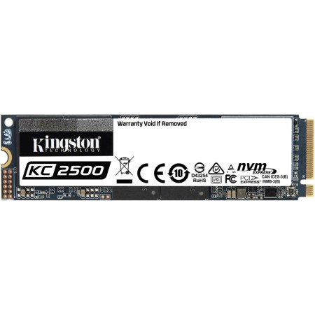 Накопитель SSD Kingston_2000GB SKC2500M8/2000G NVMe M.2 2280