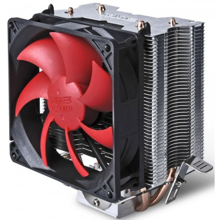 Кулер PCCooler S93 S775/115X/AM2/AM3/AM4 102W 90mm 2200RPM