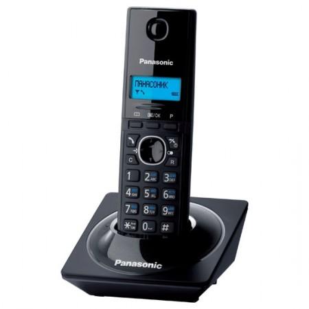 Телефон Dect Panasonic KX-TG1711RUB Черный