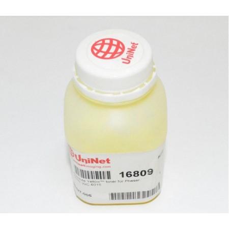 Тонер Xerox Phaser 6000/6010 Absolute Y, (Uninet), 30 г. (1,