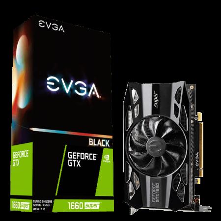 Видеокарта EVGA GTX1660 SUPER 6GB 192b D6 06G-P4-1061-KR