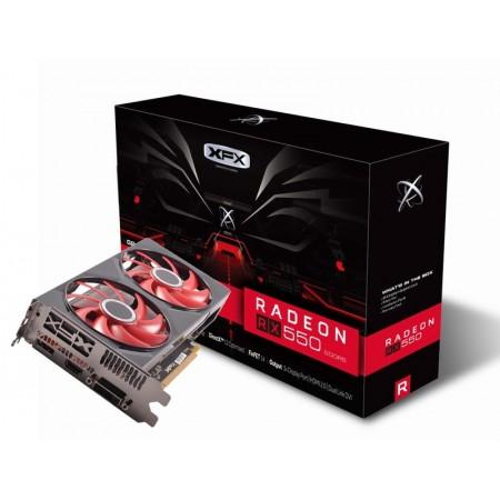 Видеокарта XFX Radeon RX 550 4GB RX-550P4PFG5