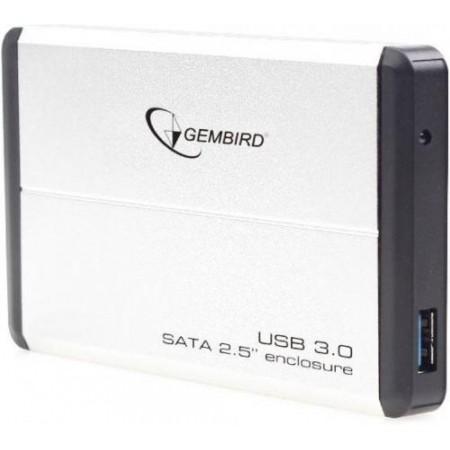 "Внешний корпус Gembird EE2-U3S-2-S 2.5"" USB3.0 (Silver)"
