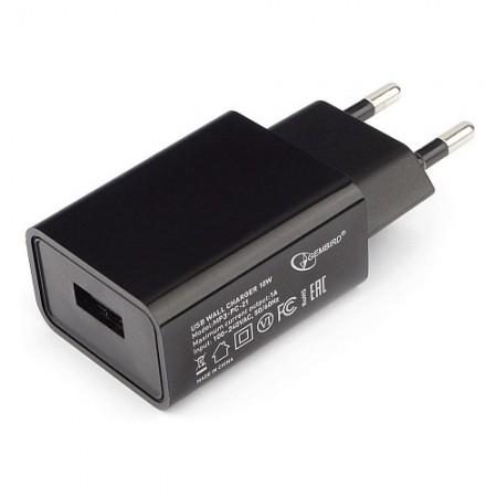 Зарядное устройство USB Gembird MP3A-PC-21 100/220V 5V/1A 1x