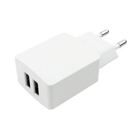 Зарядное устройство USB Gembird MP3A-PC-13 100/220V 5V/2.1A